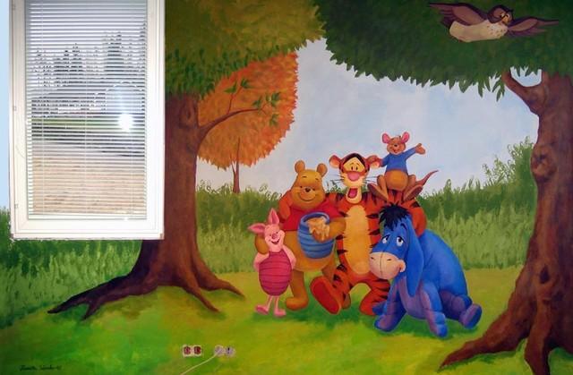 Ystävyyden metsä, A & M Suurkuukka lastenhuone