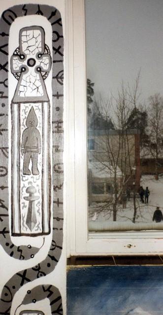 Yksityiskohta Viikinkiaika, Lauritsalan lukio
