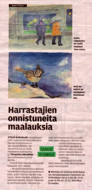 Etela-Saimaa 31.1.2018