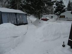 ja lunta riittää