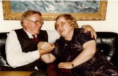 Einari Tissari ja Airi Peteri