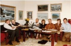 Einari, Airi, Väinö, Leena, Jorma, Marita ja Veikko
