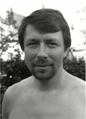 Sihteeri-taloudenhoitaja Veikko Tissari 1984.