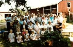 Sukukokoukseen 1989 osallistuneet.