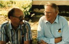 Viljo Tissari ja Einari Tissari.