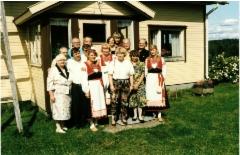 Sukukokoukseen 1992 osallistuneet.