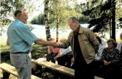 Puheenjohtajan vaihdos, Einari ja Jorma