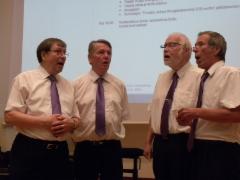 Sarkka-kvartetti esiintyy