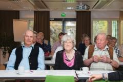 Tarkkaavaisena kokouksessa