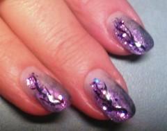 violetti, paljetti