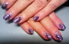 metaslliliuku violetti, paljetti