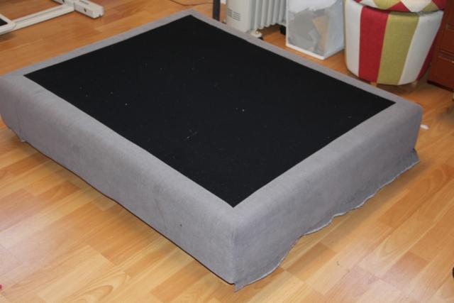 ja tässä sohvan alin osa