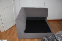 kulmapala sohvasta ennen