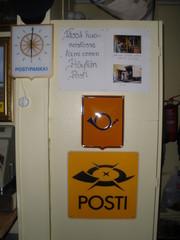 Ennen oli Höytiällä postikin