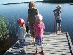 Pielavedellä heinäkuulla 2009