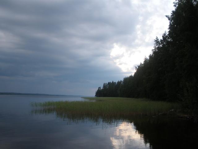 Tervossa Niinivesi järven rannalla 9.7.2011