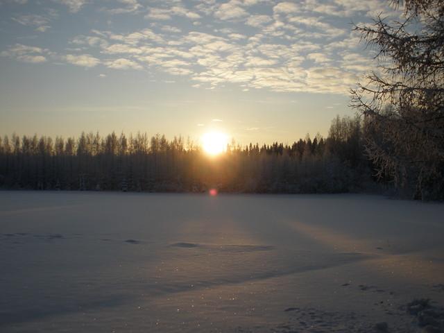 Pielaveden Ranta-ahossa 30.12.2012