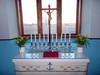 utö kappeli krusifiksi ja kynttelikkö