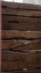 Kokemäki Pyhän Henrikin saarnahuoneen hirret