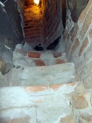 sysmä salakäytävä portaat