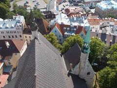 oleviste kirkon katto