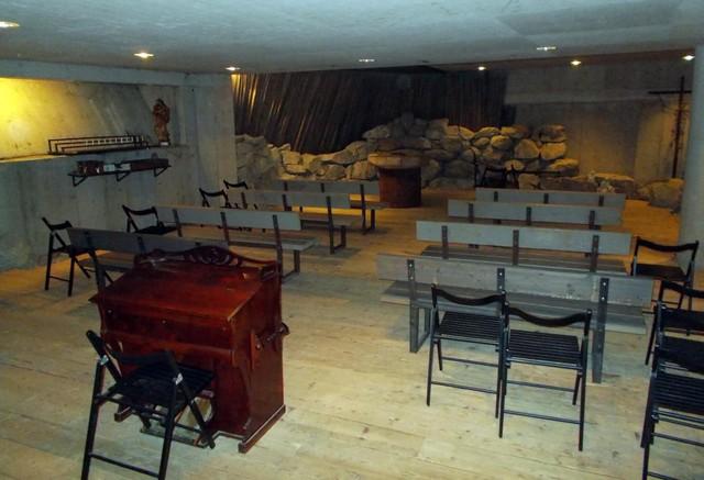 pyhän hengen kappeli sali
