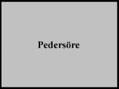pedersöre