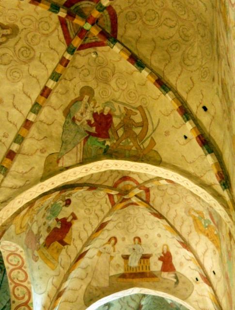 lohja etelä holvi kirkkomaalari