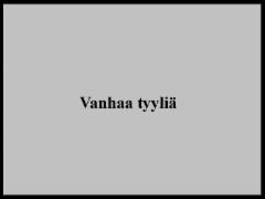 vanhaa_tyylia