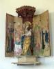 saloinen alttarikaappi neitsyt maria