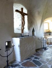 olavinlinna 2 kappeli alttari