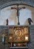 17 vadstena kirkko alttari ja krusifiksi