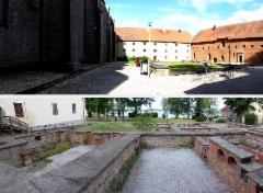 25 vadstena luostari piha ja rauniot
