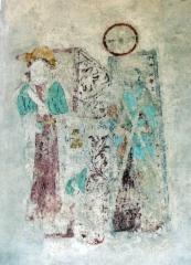 06 gärdslösa seinämaalaus
