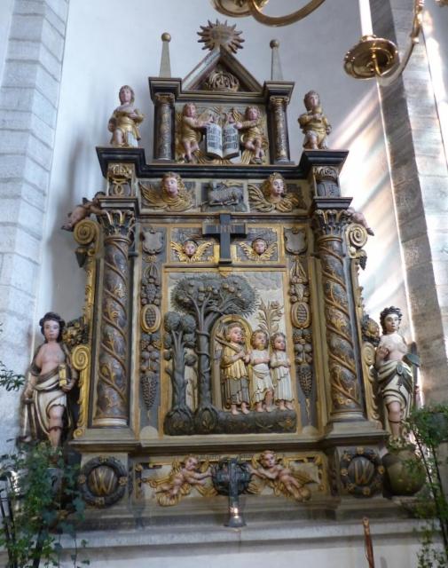 10 visby barokkialttari