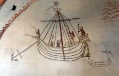 maaria laiva ankkurissa