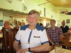Puheenjohtaja Eero Tuovinen.