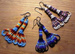 peyote earrings 3