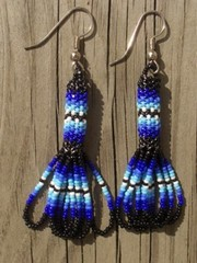 intiaanikorvakorut, peyote stitch earrings 3 ? kopio