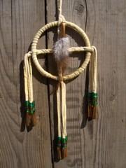 017 elamanpyora, medicine wheel 7cm