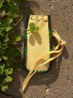 medicine bag, amulettikukkaro 011