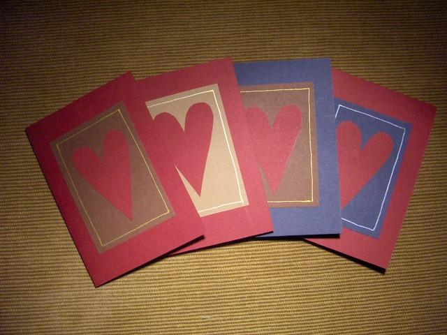 sydan pikkukortit 4kpl lajitelma