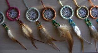 unisieppari pieni - dream catcher small