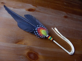 rukoussulka oma - meditation feather own