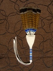 unituulia intiaaniviuhka sini-ruskea