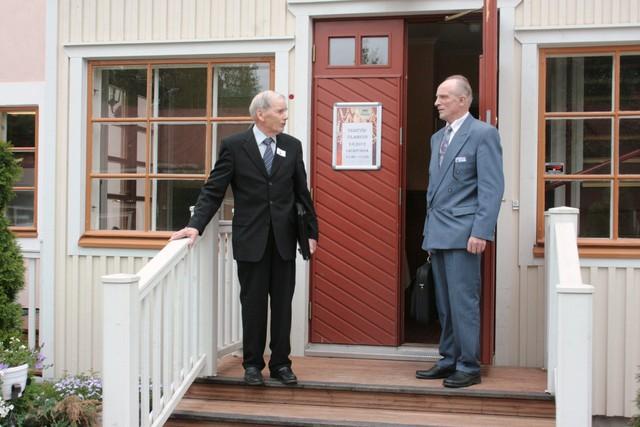 Pekka Siltanen ja Reijo Leppilahti