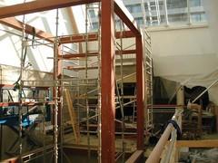 Rewell Center hissi rakenteilla 2003