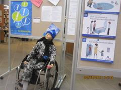 Vammaisneuvoston näyttely 15.3-15.4.2010