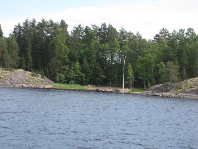 Saaret ovat kallioisia,mutta kauniita.