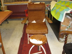 vanha kosmetologin tuoli
